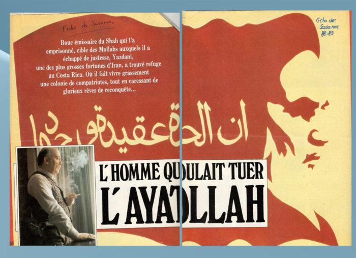 Yazdani — L'écho des savanes — Interview
