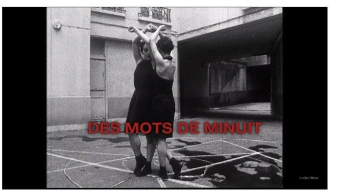 Vidéo  France 3 – Des mots de minuit – 2004