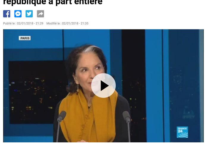 Vidéo  France 24 – 2018