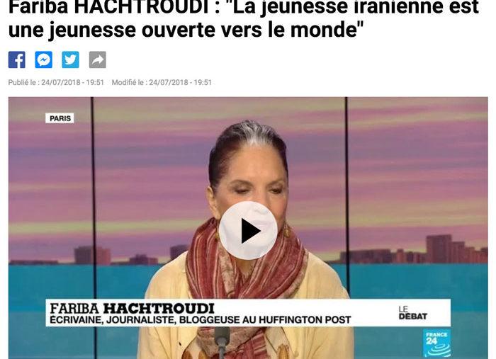 Vidéo |France 24 – Juillet-2018