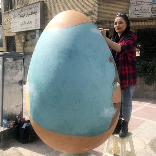 Iran / Covid-19 : Œufs de Pâques à Téhéran